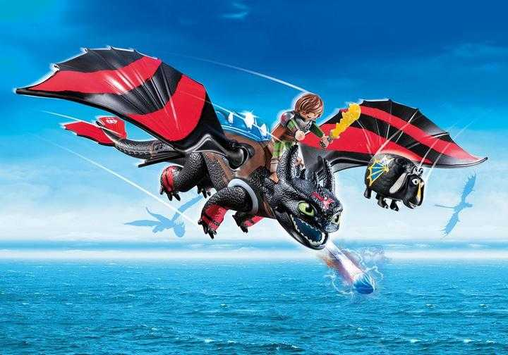PLAYMOBIL Dragon Racing: Hiccup and Toothless (70727)