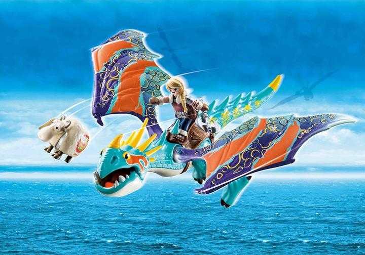 PLAYMOBIL Dragon Racing: Astrid and Stormfly (70728)