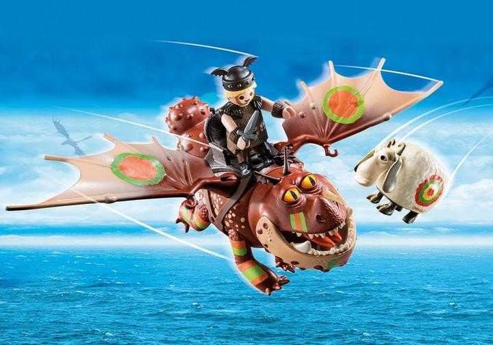 PLAYMOBIL Dragon Racing: Fischbein und Fleischklops (70729)