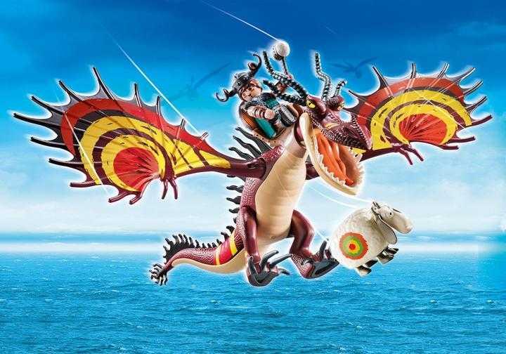 PLAYMOBIL Dragon Racing: Snotlout and Hookfang (70731)