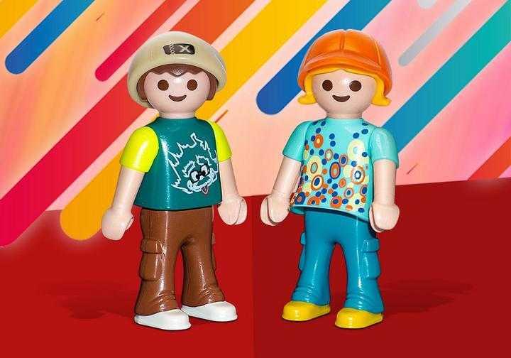 PLAYMOBIL Lisa and Bennet (70738)