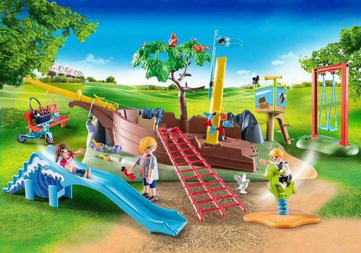 PLAYMOBIL Playground Adventure with Shipwreck (70741)
