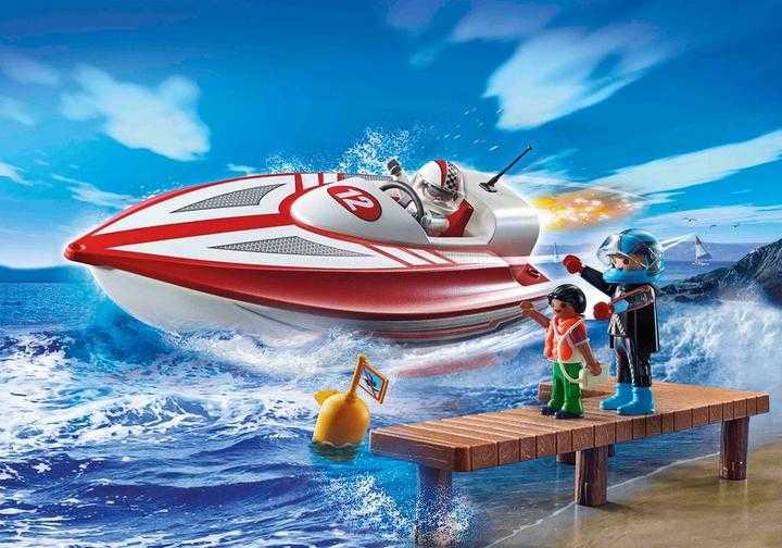 PLAYMOBIL Speedboat Racer (70744)
