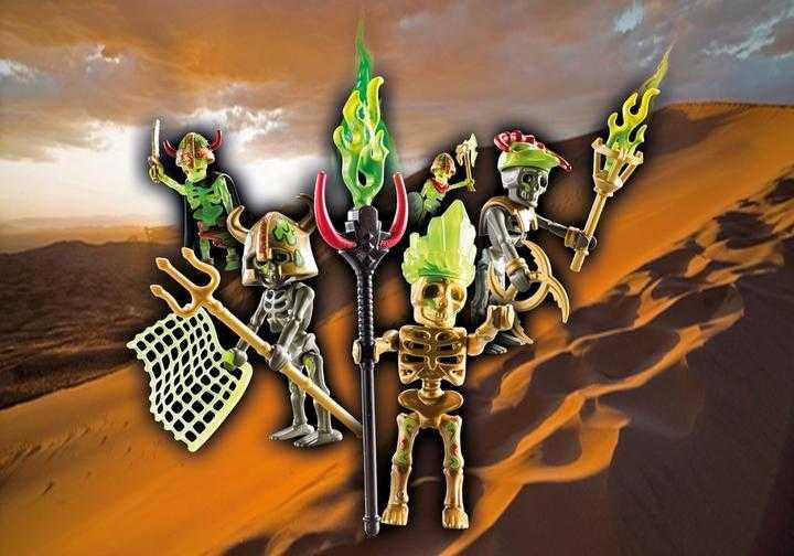 PLAYMOBIL 70752 Skeleton verrassingsbox - Sal'ahari Sands skeletstrijder (serie 1) (70752)