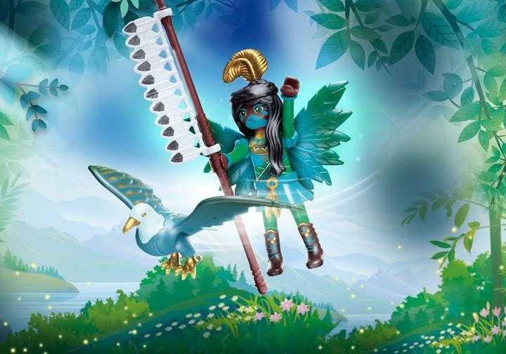 PLAYMOBIL Knight Fairy met totemdier (70802)