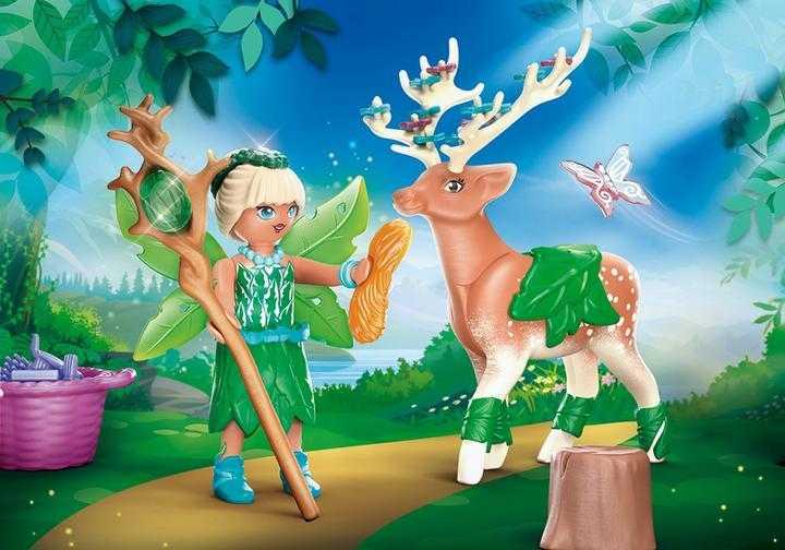 PLAYMOBIL Forest Fairy met totemdier (70806)