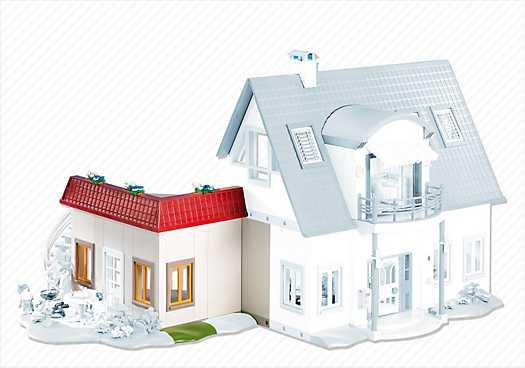 Uitbreidingsset b voor moderne villa art 4279 7388 nu for Playmobil villa moderne maison 4279