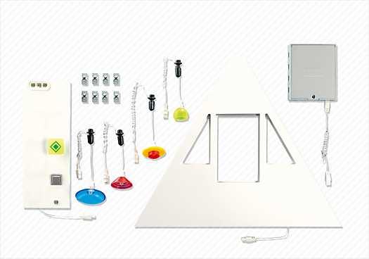 PLAYMOBIL Neues Wohnhaus, Beleuchtungs-Grundset (7390)
