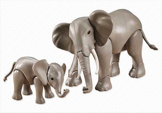 PLAYMOBIL Elefant mit Baby (7995)