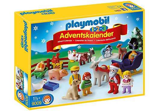 PLAYMOBIL 1.2.3 Adventskalender Kerst op de boerderij (9009)