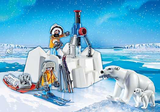 PLAYMOBIL Poolreizigers met ijsberen (9056)