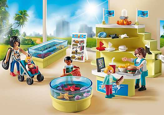 PLAYMOBIL Aquariumshop (9061)