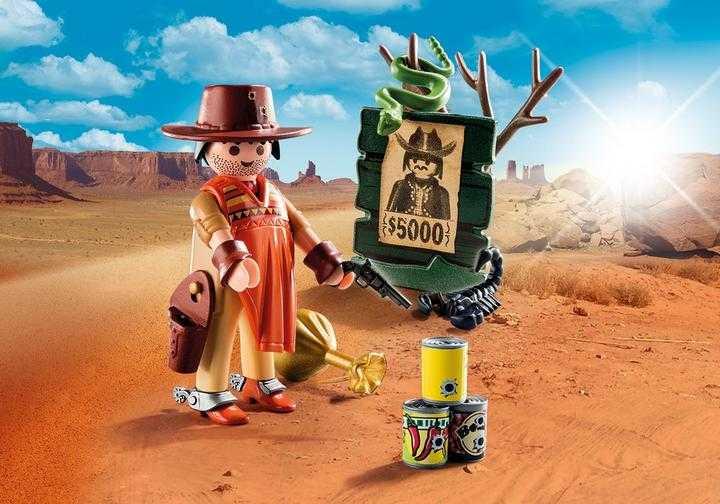 PLAYMOBIL Wilde Westen revolverheld (9083)