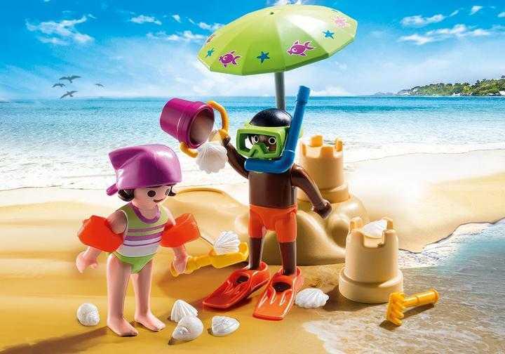 PLAYMOBIL Kids mit Sandburg (9085)