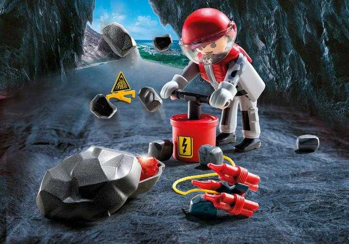 PLAYMOBIL Explosievenexpert (9092)