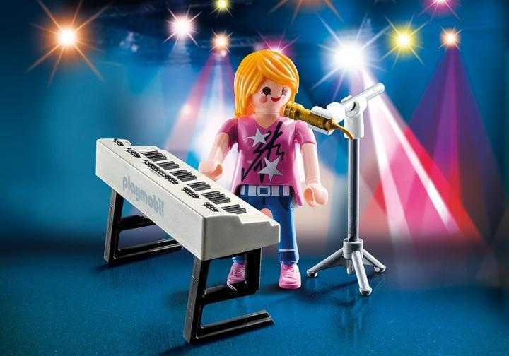 PLAYMOBIL 9095 Special Plus Sängerin am Keyboard