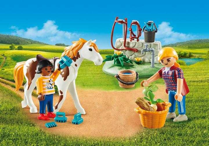 PLAYMOBIL Horse Grooming Carry Case (9100)