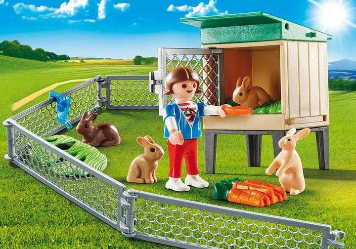 PLAYMOBIL Bunny Barn Carry Case (9104)