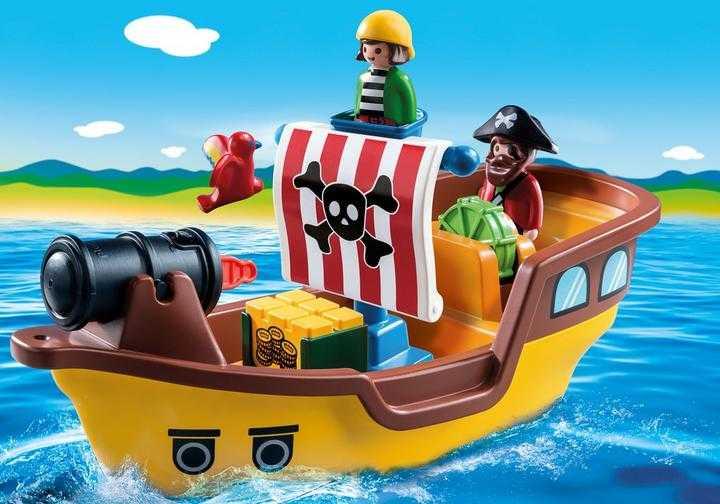 PLAYMOBIL 1.2.3 Piratenschip (9118)