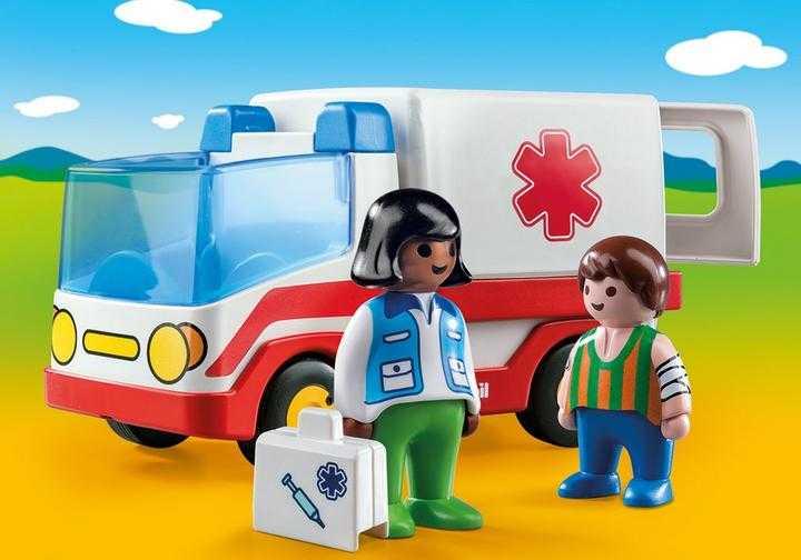 PLAYMOBIL Rettungswagen (9122)