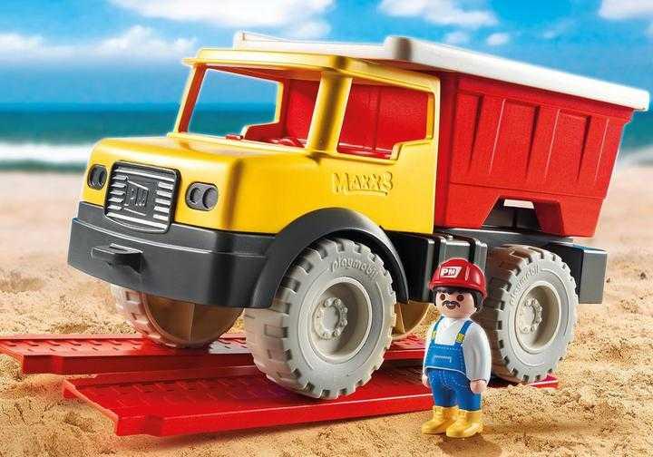 PLAYMOBIL Kiepwagen met emmer (9142)