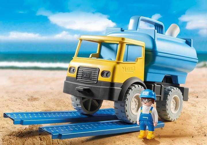 PLAYMOBIL Vrachtwagen met watertank (9144)