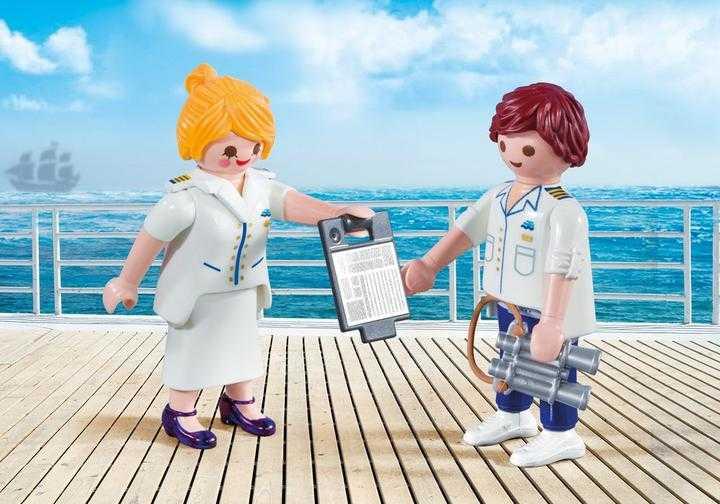 PLAYMOBIL DuoPack Steward en stewardess (9216)