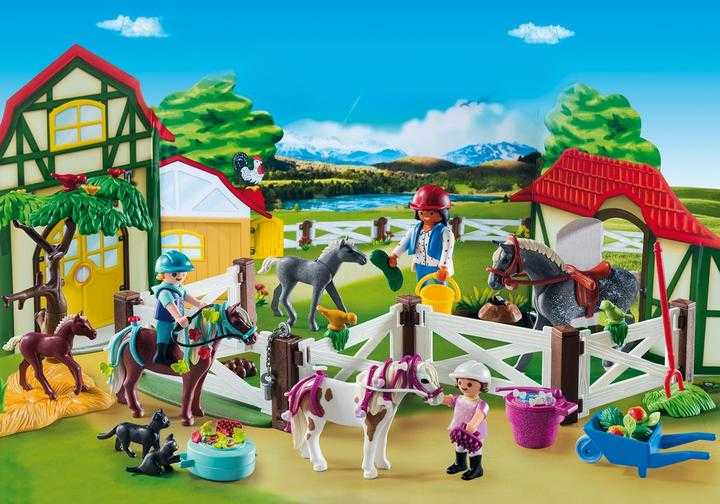 "PLAYMOBIL Adventskalender ""Reiterhof"" (9262)"