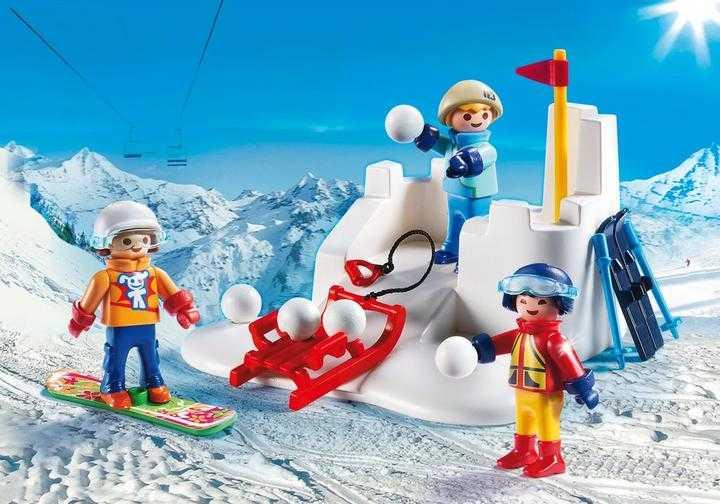 PLAYMOBIL Sneeuwballengevecht (9283)