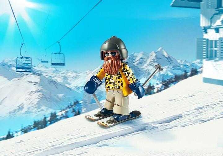 PLAYMOBIL Skifahrer mit Snowblades (9284)