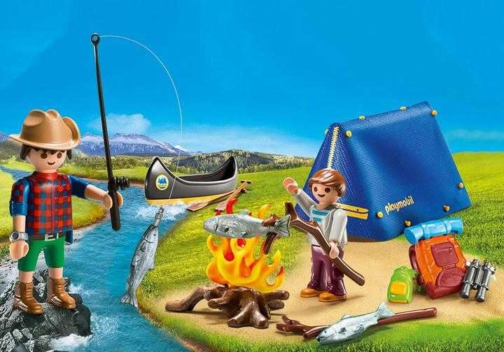 PLAYMOBIL Camping Adventure Carry Case (9323)