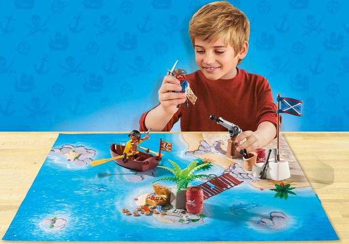 PLAYMOBIL Piraten met plattegrond (9328)