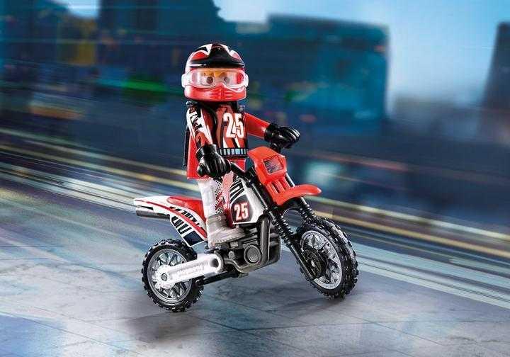 PLAYMOBIL Motocross-Fahrer (9357)