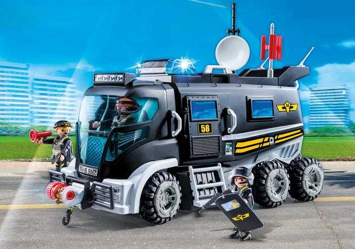 PLAYMOBIL SEK-Truck mit Licht und Sound (9360)