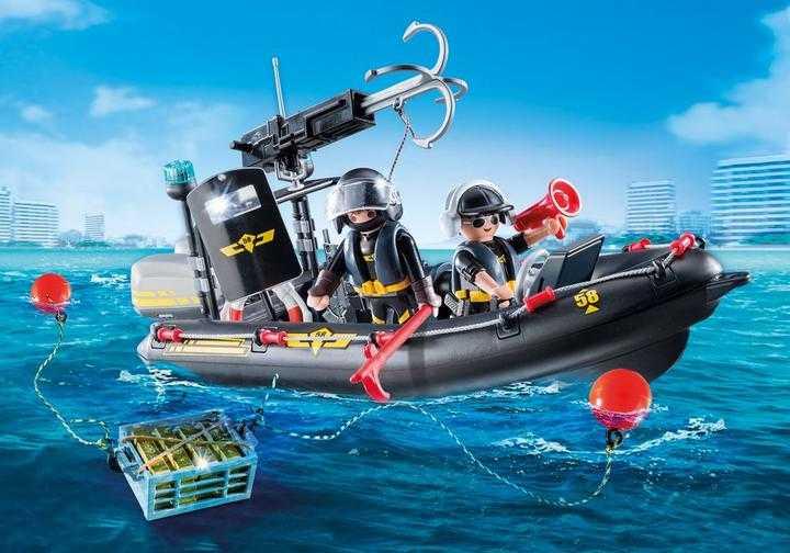 PLAYMOBIL SWAT Boat (9362)