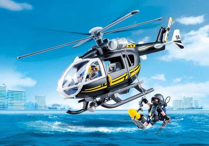 PLAYMOBIL SIE-helikopter (9363)