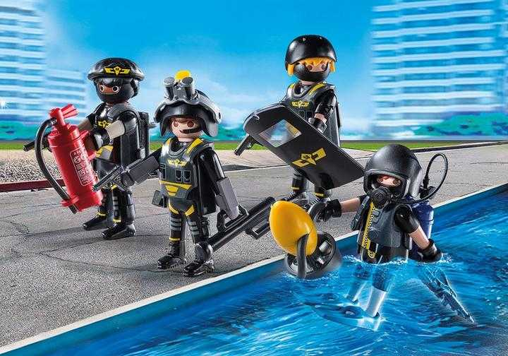 PLAYMOBIL SEK-Team (9365)
