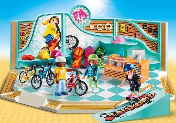PLAYMOBIL Fiets- en skatewinkel (9402)
