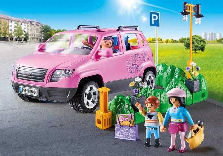 PLAYMOBIL Familiewagen met parkeerplaats (9404)
