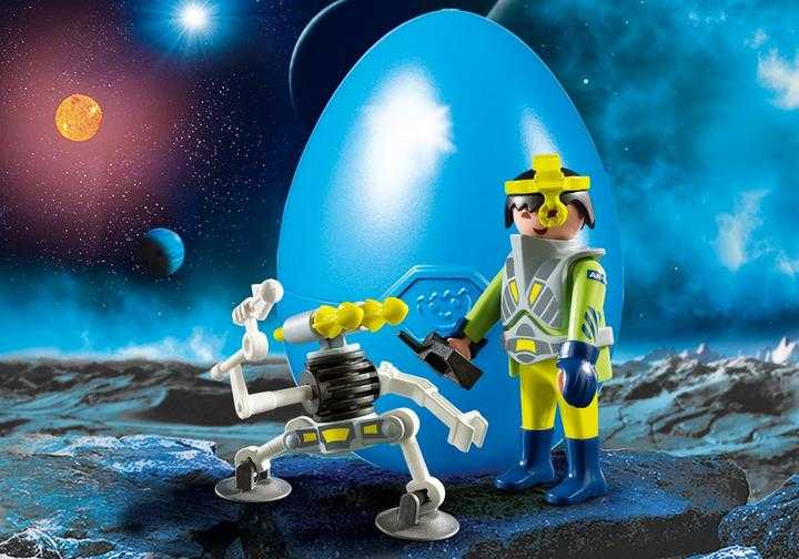 PLAYMOBIL Space-Agent mit Roboter (9416)