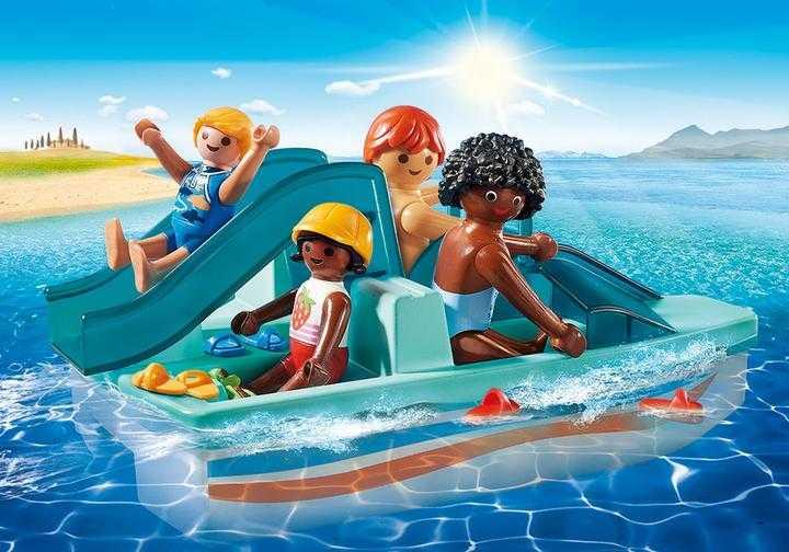 PLAYMOBIL Waterfiets met glijbaan (9424)