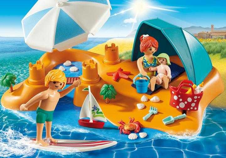 PLAYMOBIL Familie aan het strand (9425)