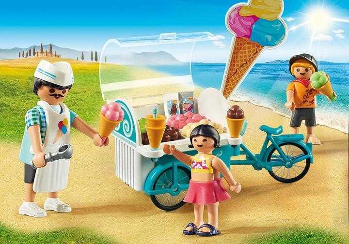 PLAYMOBIL Fahrrad mit Eiswagen (9426)
