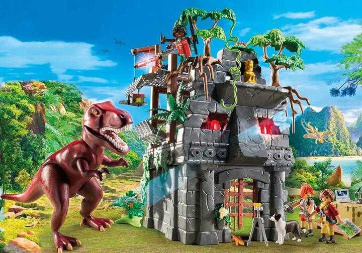 PLAYMOBIL Basecamp mit T-Rex (9429)