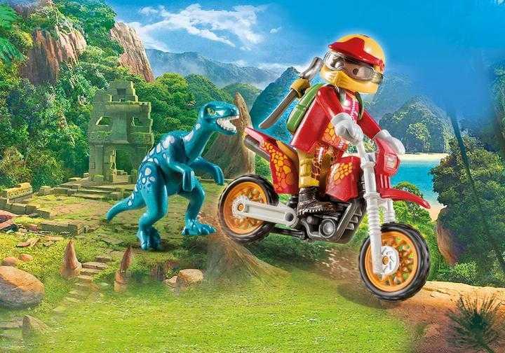 PLAYMOBIL Motorcrosser met Raptor (9431)