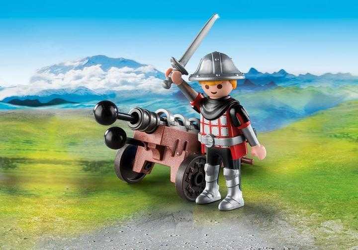 PLAYMOBIL Ridder met kanon (9441)