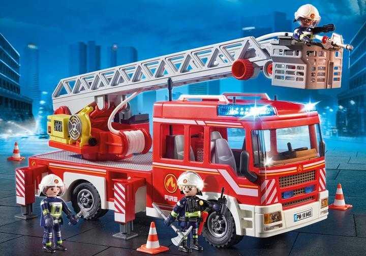 PLAYMOBIL Feuerwehr-Leiterfahrzeug (9463)