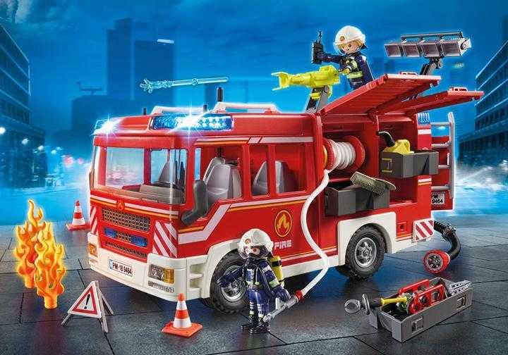 PLAYMOBIL Brandweer pompwagen (9464)