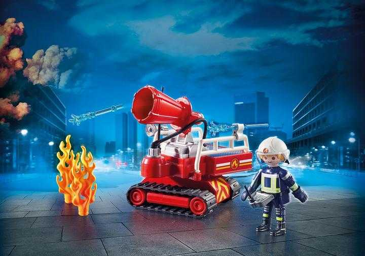 PLAYMOBIL Brandweer blusrobot (9467)
