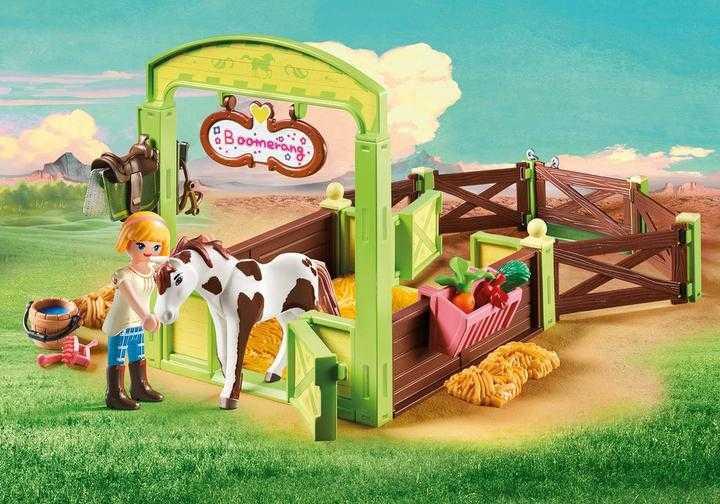 "PLAYMOBIL Pferdebox ""Abigail & Boomerang"" (9480)"